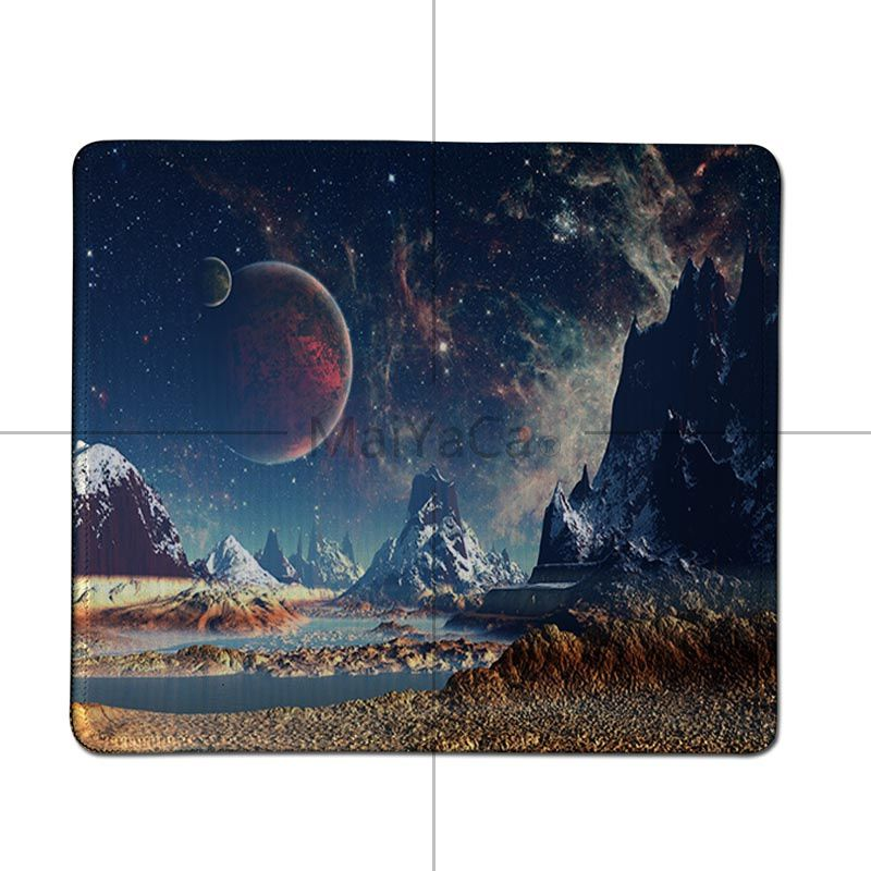 MaiYaCa Boy Gift Pad The Space Wallpaper Large Mouse pad PC Computer mat Good quality Locking Edge large Game Mouse Pad 4