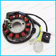 Coils Ignition Stator Magneto 12 poles For 125cc 150cc GY6 Moped Scooter ATV Quads Motorcycles(China)