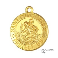 Teamer-St-Saint-Christopher-Medal-Pendant-Catholic-Protection-religious-Charm-Wholesale-5pcs-DIY-bracelets-necklaces-anklets.jpg_200x200