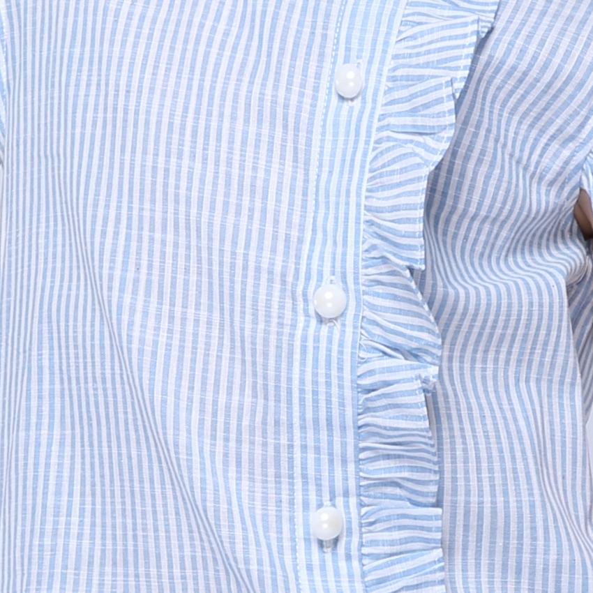 Girl Shirt Brand 17 Cotton Girls White Blouses High Quality Solid Teenage School Uniform Shirt Long Sleeve Spring Kids Clothes 7