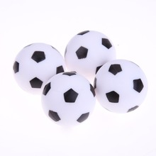 4pcs 32mm Foosball Table Football Plastic Soccer Ball Football Table Balls Fussball Soccerball Sport Gifts Round Table Games