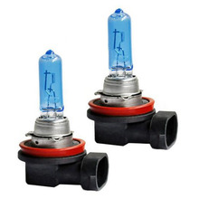 2 X High Power 100W SMD COB LED Car Auto Fog Lights Parking Bulb Lamps car headlights 9005 Xenon White 12V