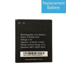 100% 1730mAh Replacement PSP3450 DUO Battery For Prestigio MultiPhone PSP 3450 DUO Baterij Batterie Mobile Phone Batteries
