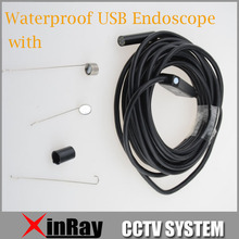 High Resolution Waterproof USB Endscope 2MP 9mm Inspection Cam 1600x1200 USB Inspection Endoscope IC5H