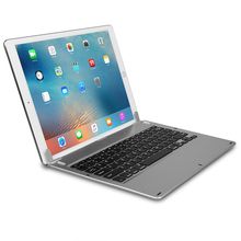 For Ipad Pro Wireless Bluetooth Keyboard Aluminum Keyboard with Shaft Flat Slot Type Keyboard 12.9 inch