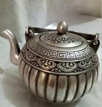 Copper pot copper sculpture to raise the decorative pattern t exquisite antique copper