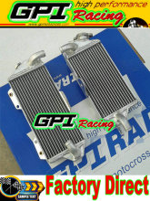 aluminum racing  Radiator for Kawasaki KX500 KX 500 1988-2004 2003 2002 2001 2000 1999