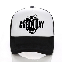 New Arrival Green Day Printed cap Women Letter Solid Adult baseball Cap Black White Hat Snapback Hat Women Cap