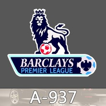 A-937 Barclays Premier League Logo Vinyl Decal Sticker for Kids Waterproof Cool Moto Graffiti Laptop Luggage Notebook Stickers