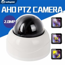 AHD 1080P Dome PTZ CCTV Camera 2.8-8mm Auto-Focus Manual Varifocal 3X Zoom Lens 3 Inch Mini Security Camera 2MP IR Night Vision