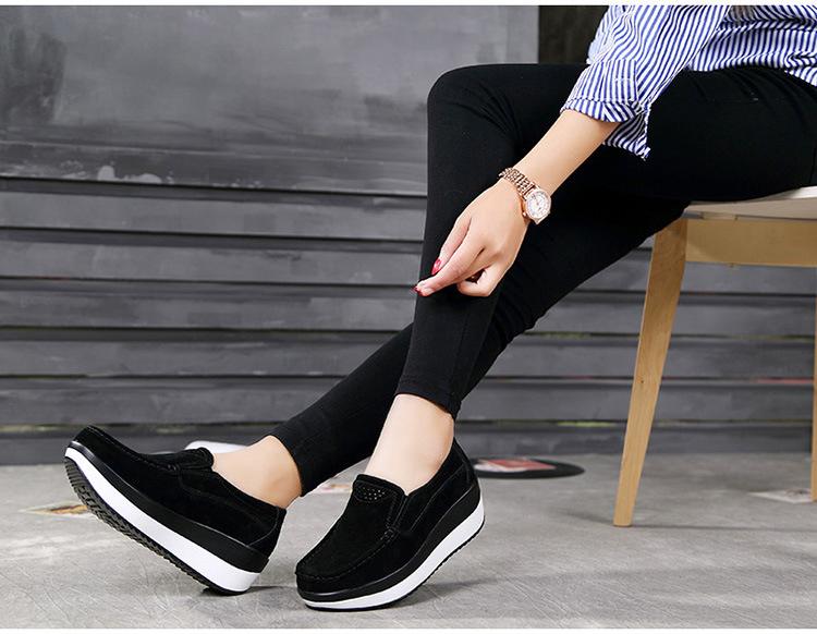 HX 3213 (13) Autumn Platforms Women Shoes