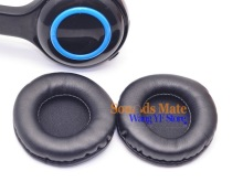 Thicker Soft Ear Pad Cups Foam Cushion For Logitech H600 H609 Headset Headphone 1 Pair Left and Right(China)