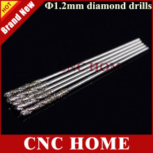 10pc 1.2mm Micro Diamond Jade Drill Bits, Twist Drill, Ceramic Punch Needle, Tools for Crystal, Onyx, glass, Emerald, hole maker