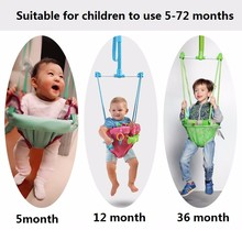 Baby jumping chair Body building frame Swing Children hanging chair Jumping toy Toddler Birthday Christmas gift Mother helper(China)