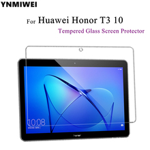YNMIWEI For Honor Play Pad 2 9.6 inch Tempered Glass Screen Protector For Huawei MediaPad T3 10 Glass Films AGS-L09 AGS-W09(China)