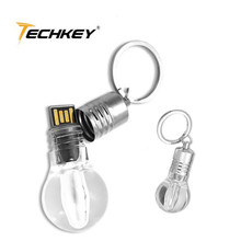 2014 Light Bulb Shaped USB Flash Drive 8GB 16GB 32GB U disk USB drive 64g flash stick pen drive/disk/car/Gift Free shipping