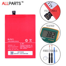 ALLPARTS 2017 Original Full Capacity 3100mAh BLP571 Oneplus One Battery For One Plus One Battery 1 kit Replace 16GB 32GB 64GB