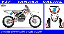 WR YZ YZF 125 250 400 450  Team Graphics Backgrounds Decals Stickers  Motor cross Motorcycle Dirt Bike MX Racing Parts YGR027