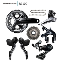 Shimano DURA ACE 9100 R9100 groupset 2*11s 22s road bike bicycle groupsets(China)