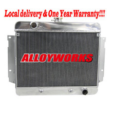 Fast delivery NEW 3 ROW TRI CORE ALUMINUM RACING RADIATOR FOR 1969-1970 Chevy Impala Chevrolet Brand Auto cooling parts