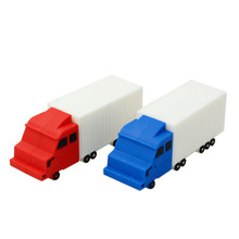 Amthin car usb flash drive mini truck pendrive 8gb 32gb freight train memory stick 4gb 16gb toy gifts creative usb free shipping