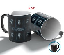 game of thrones family hero mug magic changing color moring coffee tea milk mugs cup best gift for your friends and yourself