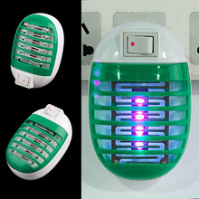 OUTAD 220V Socket Electric Mini Mosquito Lamp LED Mosquito Repeller killing Fly Bug Insect Trap Night Lamp Killer Zapper