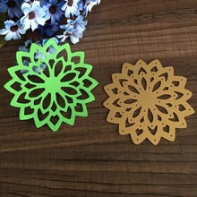 For DIY Scrapbooking Photo Album Paper Card Craft Nice Flower Embossing Metal Cutting Dies Stencils Scrapbooking