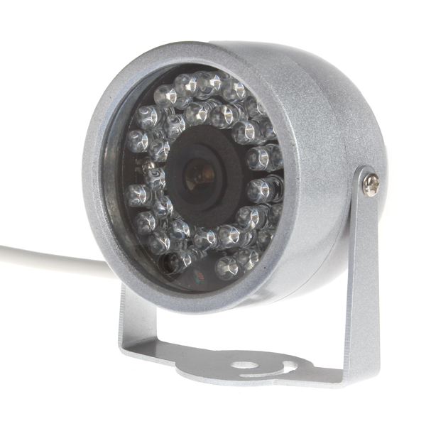 1 / 3 Inch CMOS 380TV Line Color Wired Night Vision 30 IR LED Security CCTV Camera<br><br>Aliexpress