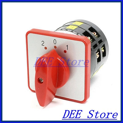 LW6-2 3 Positions Cam Combination Changeover Switch AC 220V/380V 5A<br><br>Aliexpress