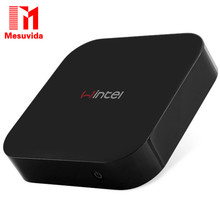 Mesuvida Portable Design Wintel W8 Z3735F Quad Core Set Top Box Dual Boot WiFi Smart TV Box 2GB/32GB Bluetooth 4.0 Media Player