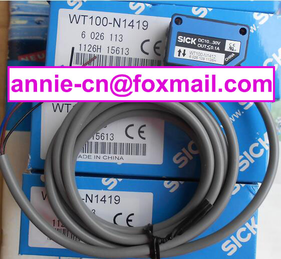100% New and original  WT100-N1419,WT100-N1412  SICK  Photoelectric switch<br><br>Aliexpress