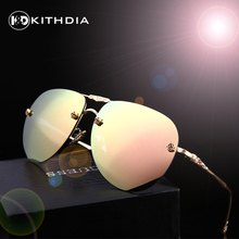 KITHDIA New Polarized Sunglasses Women Brand Designer UV400 Women Sun glasses Retro Drive Fashion Shades With Case(China)