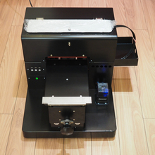 A4 size Digital UV LED Flatbed printer for printing phone case plastic wood metal glass