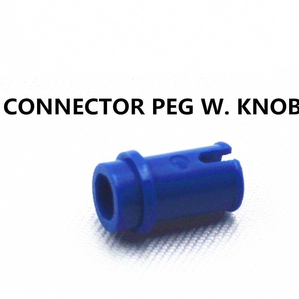 Building Blocks Bulk Technic Parts 100pcs CONNECTOR PEG W. KNOB compatible with lego for kids boys toy MOC4211483