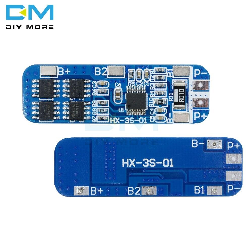 3Pcs Protection Board Module 3A 7.4V 8.4V 2S Li-Ion Lithium Battery 18650 cb
