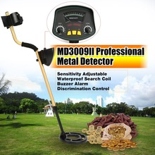 MD3009II Professional Underground Metal Detector Handheld Treasure Hunter Gold Digger Finder Waterproof Sensitive Adjustable