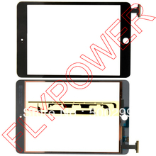 100% warranty Black color Touch screen Digitizer For iPad mini with free sticker by free dhl, UPS or EMS; 10pcs/lot