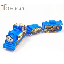 TOFOCO Hot Sale Thomas Train Electric Railway Track Train Toys Best New Year Gift for Children