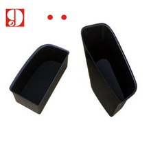 Hot Products ! car styling 2PCS/Lot For Audi Q5 2009-2016 Front Door storage box handle box glove armrest box