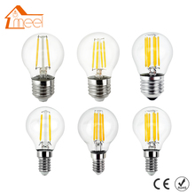 LED Filament Light Dimmable E27 220V 240V 4W 8W 12W 16W Glass Housing Edison Blub E14 Antique Retro Vintage LED Lamp
