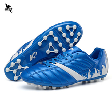 30-44 New Boy Kids Men Soccer Shoes Long Spike FG Football Boots Superfly AG Futsal Cleats Outdoor Lawn Trainers Sports Sneakers(China)