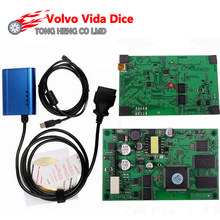 Promotion!!! High Quality for Volvo Vida Dice Super for VOLVO VIDA DICE PRO+ 2014D Fimware Update&Self-Test For Volvo Scanner(China)