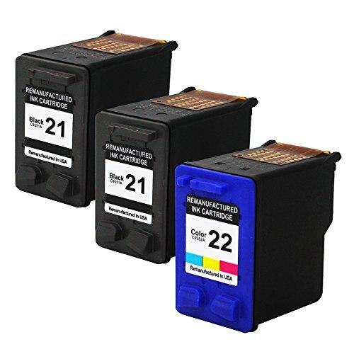 HiSaint Valuetoner Remanufactured Ink Cartridge Replacement For Hewlett Packard HP 21 &amp; HP 22<br><br>Aliexpress