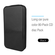 High Quality Plastic 80 Disc CD DVD Holder Storage Cover Case Organizer Wallet Bag Album