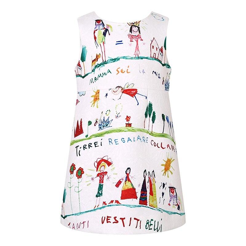 Cotton  Girl Dress Kids 2017 Summer New Embroidered Children Clothes  Princess Korean Cute Dress 30<br>