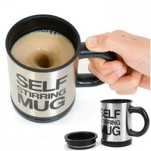 400Ml Mug Automatic Electric Lazy Self Stirring Mug Automatic Coffee Milk Mixing Self Stirring Mug Stainless Steel