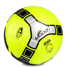 Instock 2016 New Design 5# PU Slip-Resistant Standard Size 5 Football Ball Soccer Ball(China)