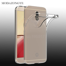 Soft Transparent Case For Motorola Moto M Case Cover Silicone Back Cover Phone Case For Motorola Moto M XT1662 XT1663 5.5 inch(China)