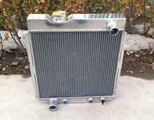 3 Row for FORD Mustang V8 ENGINE 5.0L 1964-1966 Aluminum Radiator Ranchero 64 65 66(China)